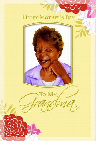To My Grandma - Mother's Day Card