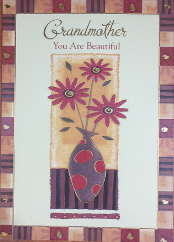 Grandmother you are beautiful - Mother's Day Card