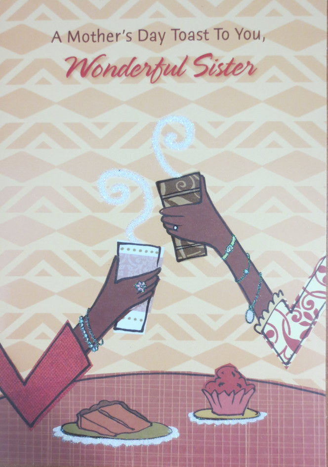 Wonderful sister mothers day cardafrican american greeting card heritage collection wonderful sister mothers day card m4hsunfo