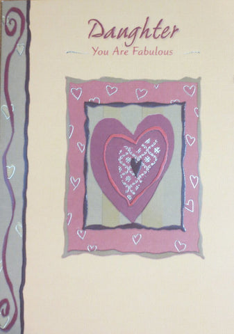 Daughter You Are Fabulous - Mother's Day Card