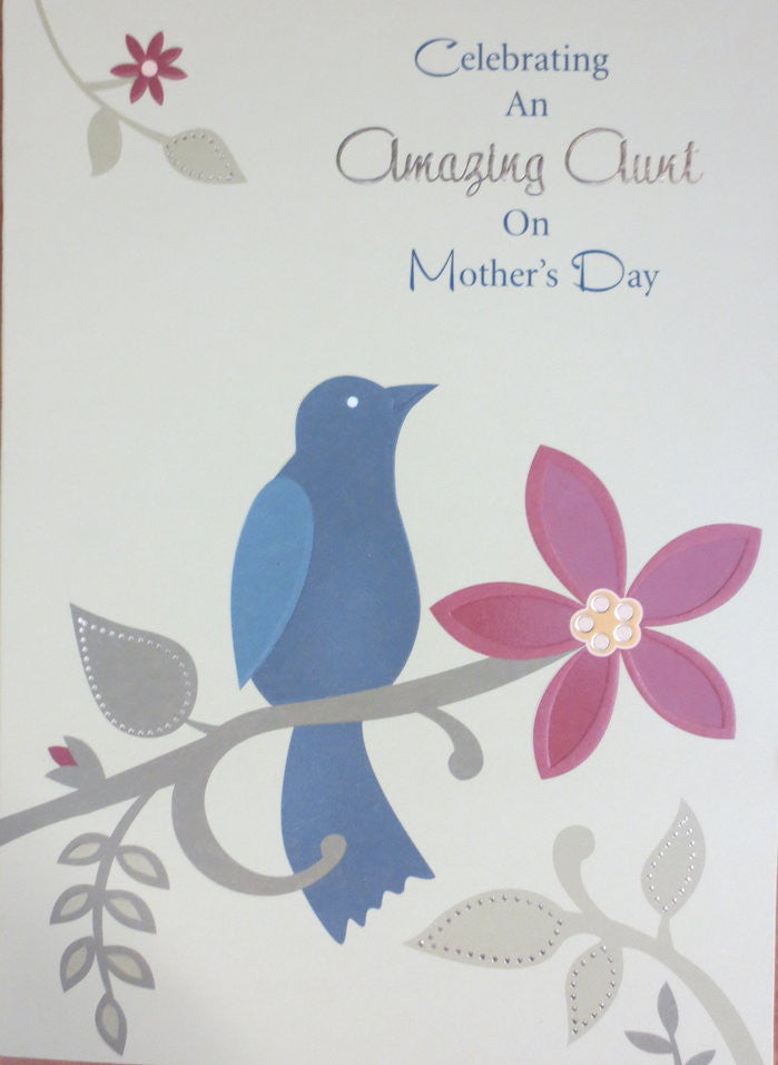 Celebrating An Amazing Aunt on Mother's Day - Mother's Day Card