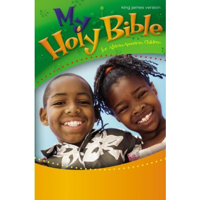 My Holy Bible For African-American Children, Hardcover - Large Print - KJV