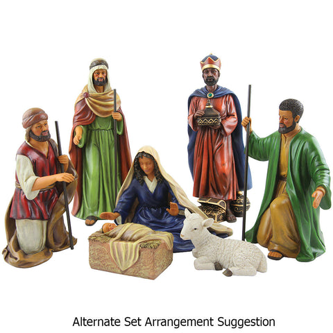 African American Nativity Set