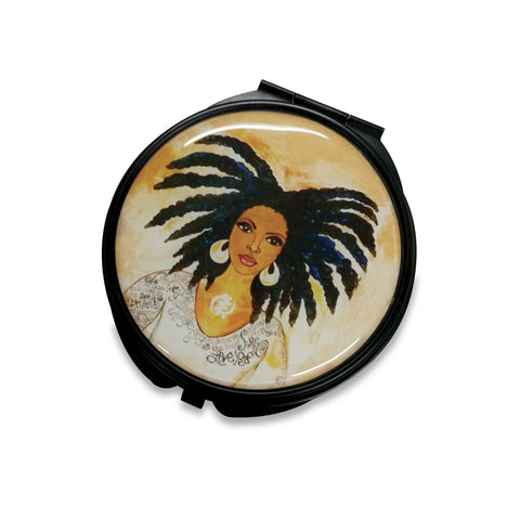 Nubian Queen Compact Mirror