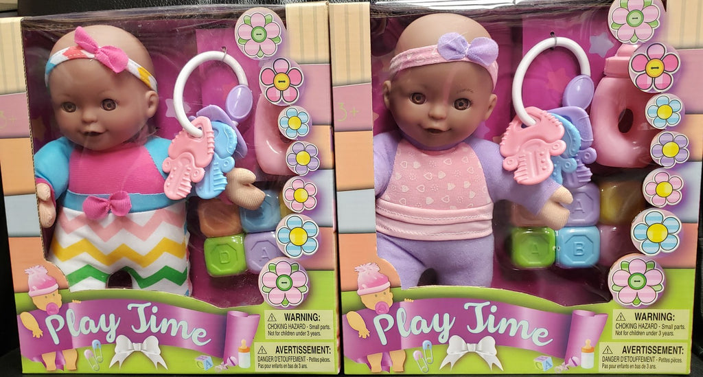 Play Time Black baby doll