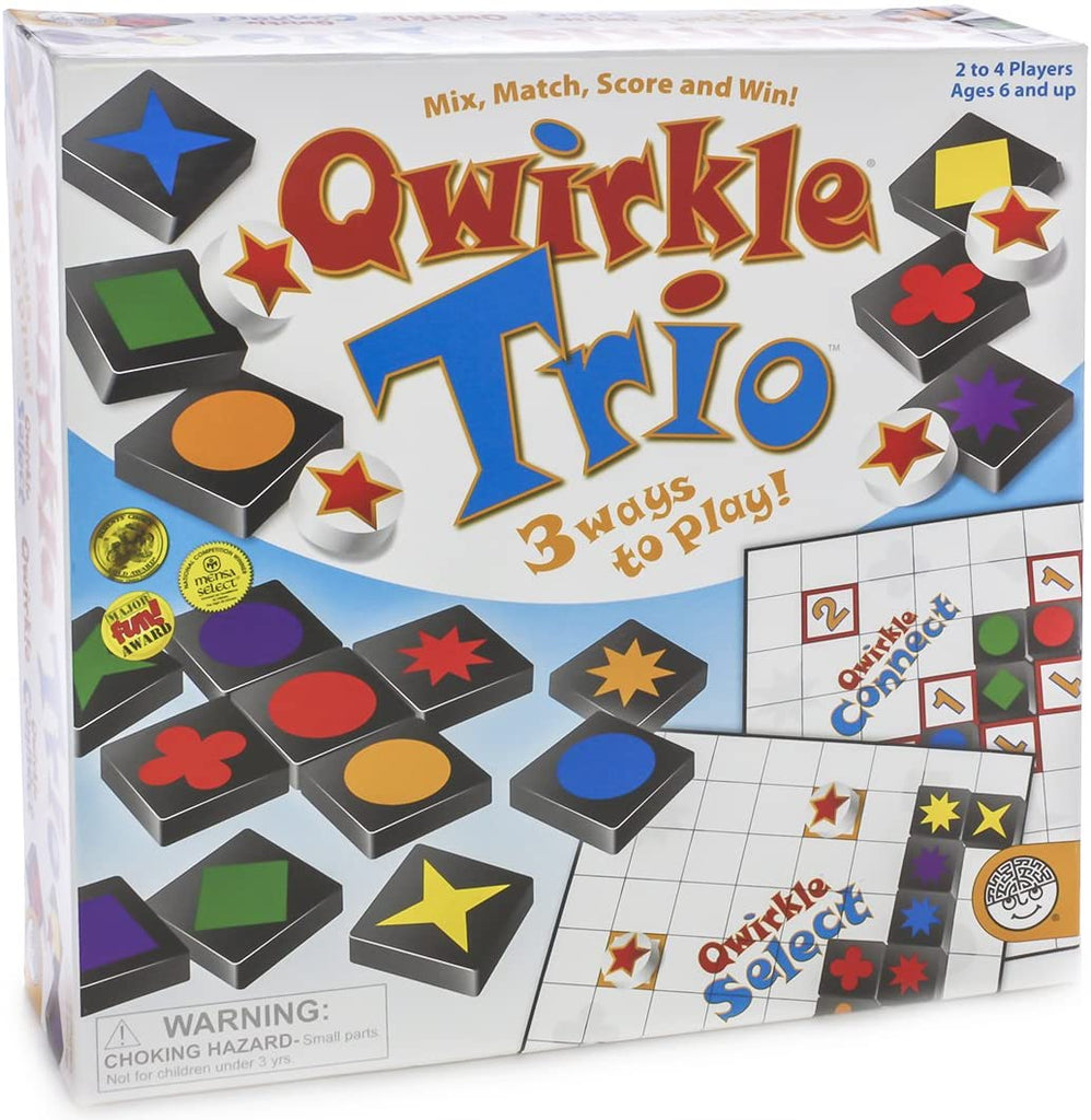 MindWare Qwirkle Trio Game