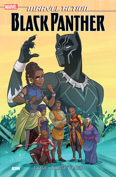 Marvel Action: Black Panther: Rise Together - Book two