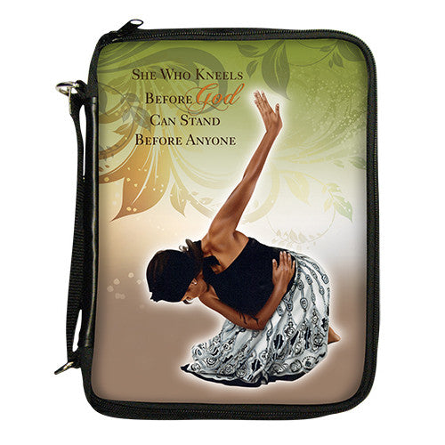She Who Kneels Bible Bible Cover