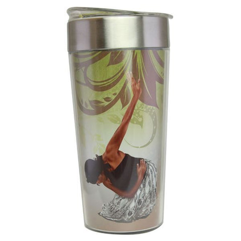 She Who Kneels African American Travel Mug