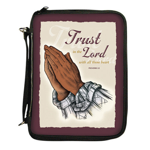 Praying Hands Bible Cover