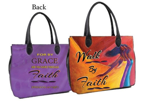 Walking by Faith Bible Bag