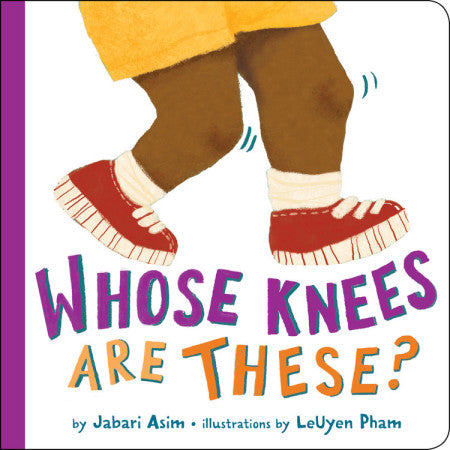 Whose Knees are These? - Boardbook