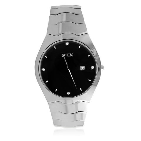 DTEK 007 Tungsten Carbide Contemporary Dress Watch