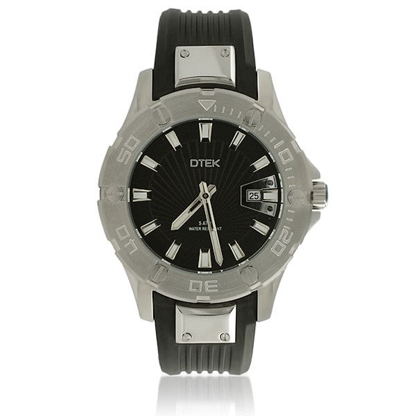 DTEK 009 Full Steel Mens Watch Rubber