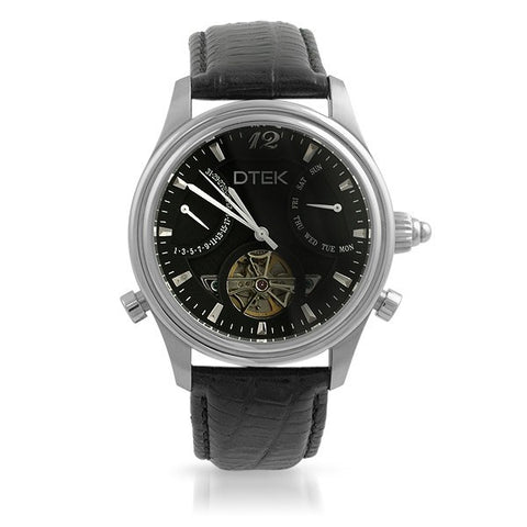 DTEK 003 Complication Automatic Watch All Black