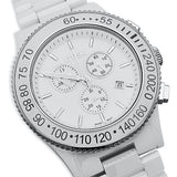 DTEK 002 White Ceramic Swiss Chronograph Watch