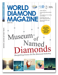 World Diamond Magazine MoND Cover Story