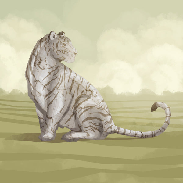 6 - Marble Tiger