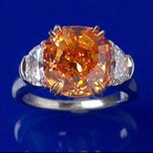 diamond one diamonds famous pin orange of fancy the is most vivid a pumpkin