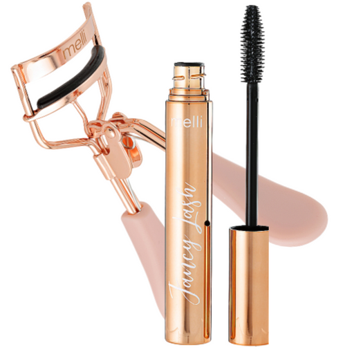 Fancy Lash Mascara & Eye Lash Curler Kit