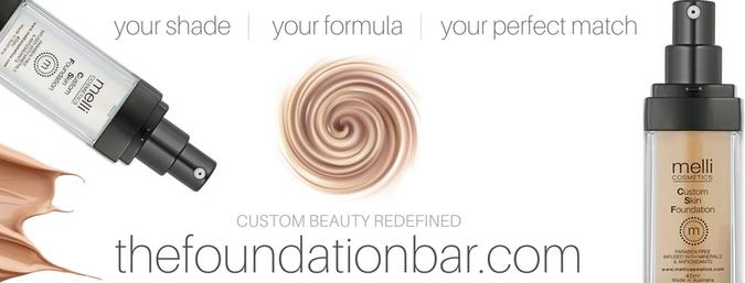 Melli Cosmetics Custom Blend Foundations Made To Order