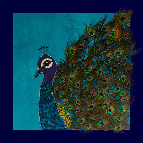 """Pierre"" the Peacock"