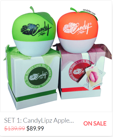 CandyLipz Apple Set