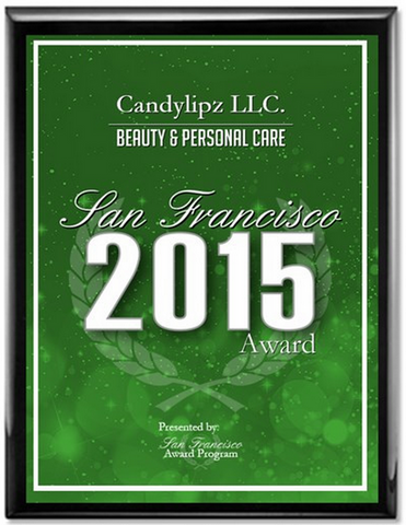 CandyLipz Beauty Award