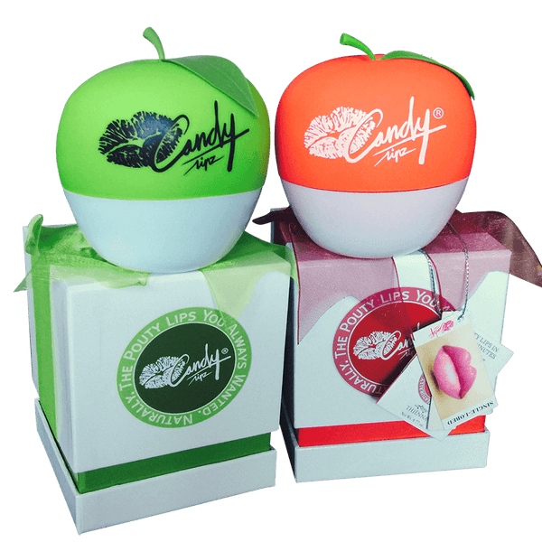 SET 1: Genuine CandyLipz Apple Lip Plumper Set (S to M)