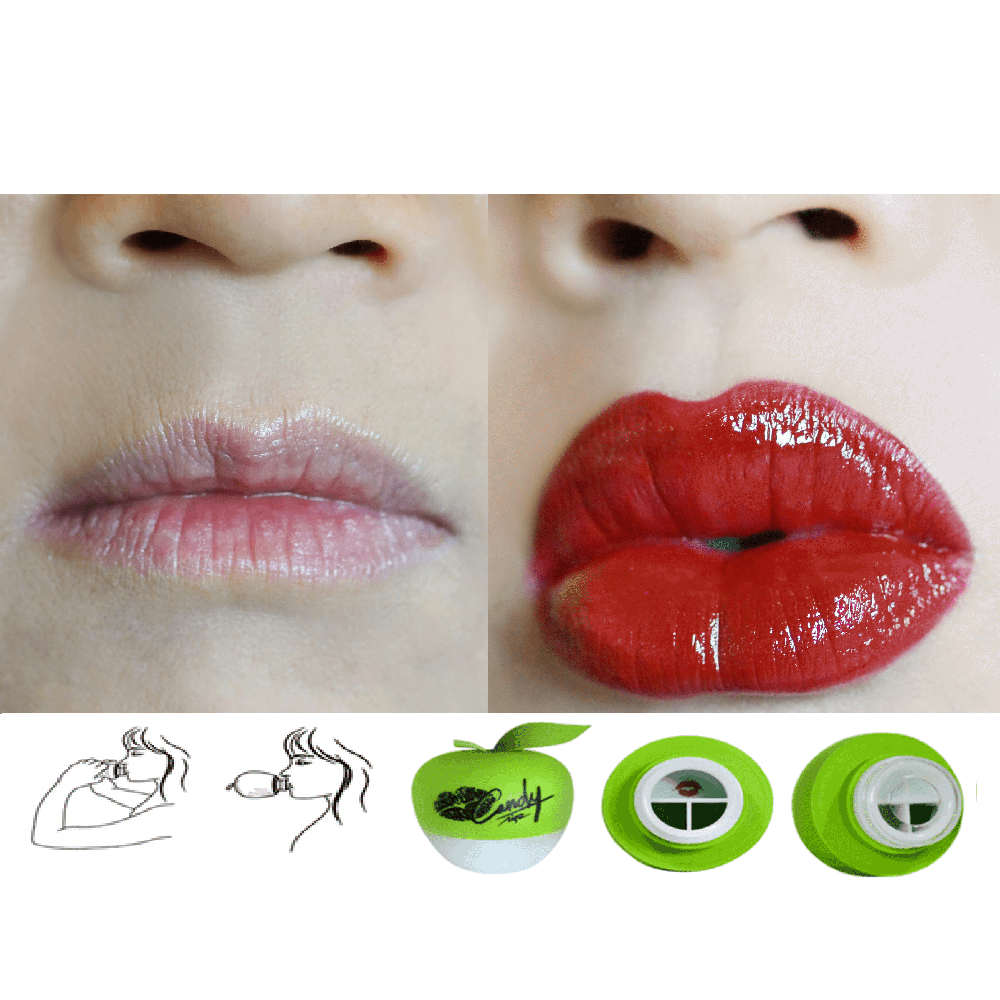 Genuine Candylipz Lip Plumper  Green Apple (S to M)
