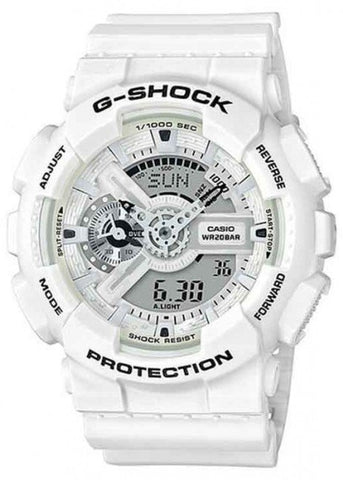 CASIO G SHOCK MARINE SERIES LTD MATTE WHITE GA110MW-7A