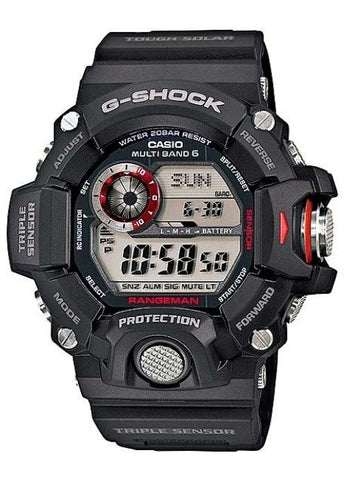 CASIO G SHOCK RANGEMAN TRIPLE SENSOR DIGITAL GW9400-1D