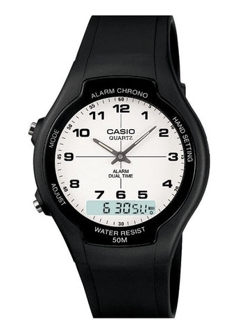 AW90H-7B  CASIO GENTS ANALOGUE / DIGITAL WATCH AW90H-7B