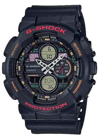 CASIO G SHOCK  ANALOGUE / DIGITAL GA140-1A4