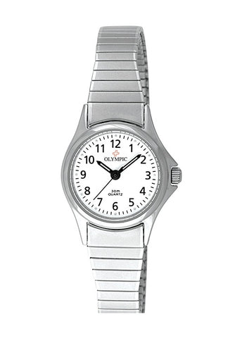 OLYMPIC SWISS LADIES ROUND 12 FIGURE DIAL 78012