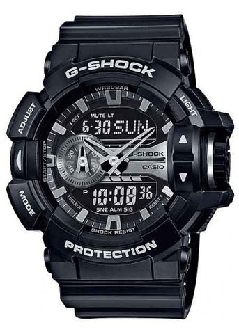 CASIO G SHOCK ANALOGUE /DIGITAL ROTARY SW GA400GB-1A