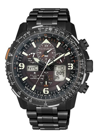 CITIZEN GENTS ECO-DRIVE PROMASTER SKY RADIO CONTROLLED JY8085-81E