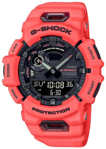 CASIO G SHOCK ANALOGUE / DIGITAL BLUETOOTH ORANGE GBA900-4A