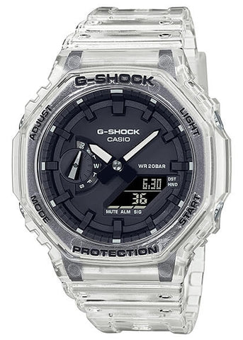 CASIO G SHOCK DUO TRANSPARENT CARBON CORE GA2100SKE-7A