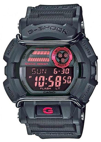 CASIO G SHOCK WITH FACE PROTECTOR - BLACK GD400-1D