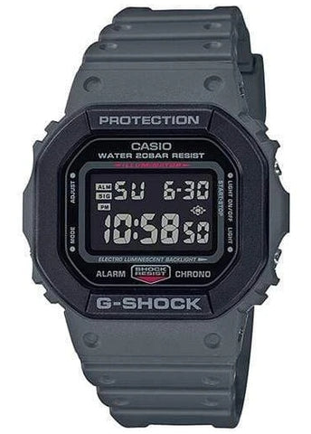 CASIO G SHOCK DIGITAL STREET UTILITY BLACK DIAL CHARCOAL DW5610SU-8D