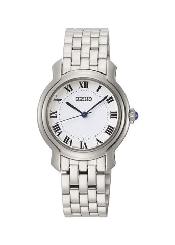 SEIKO LADIES DRESS STAINLESS STEEL BRACELET SRZ519P