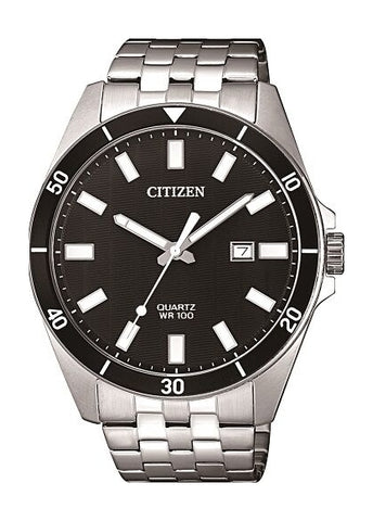 CITIZEN QUARTZ GENTS STAINLESS STEEL BI5050-54E