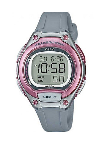CASIO WOMENS DIGITAL WATCH LW203-8A