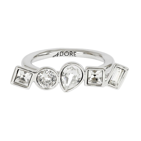 5375529 ADORE RING MIXED CRY CRYSTALS