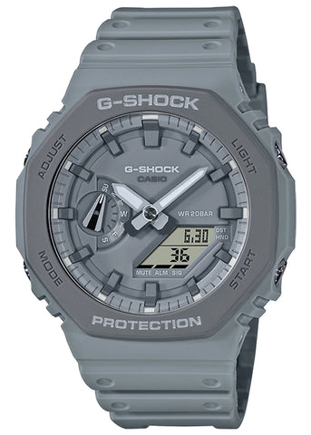 CASIO G SHOCK DUO EARTH TONE OUTDOOR GREY GA2110ET-8A