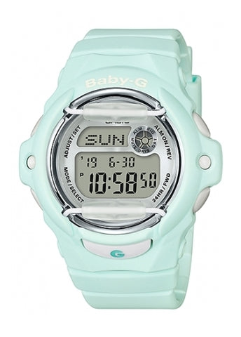 CASIO BABY G DIGITAL PASTEL GREEN BG169R-3