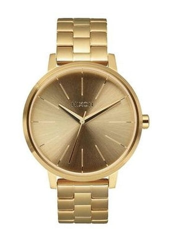 NIXON  KENSINGTON ALL GOLD & BRACELET AO99502