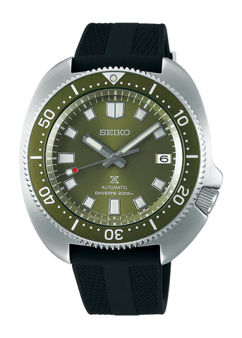 SEIKO PROSPEX SEA GREEN DIAL SILICONE BAND ( CAPTAIN WILLARD ) SPB153J1