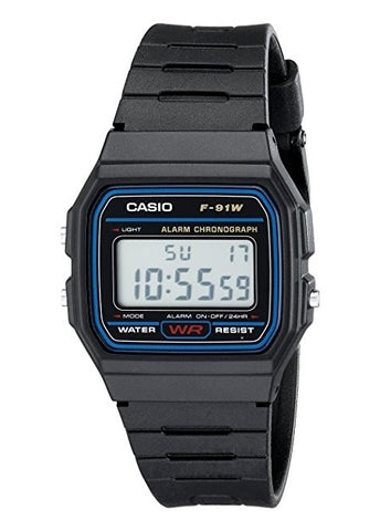 CASIO GENTS DIGITAL WATCH F91W-1